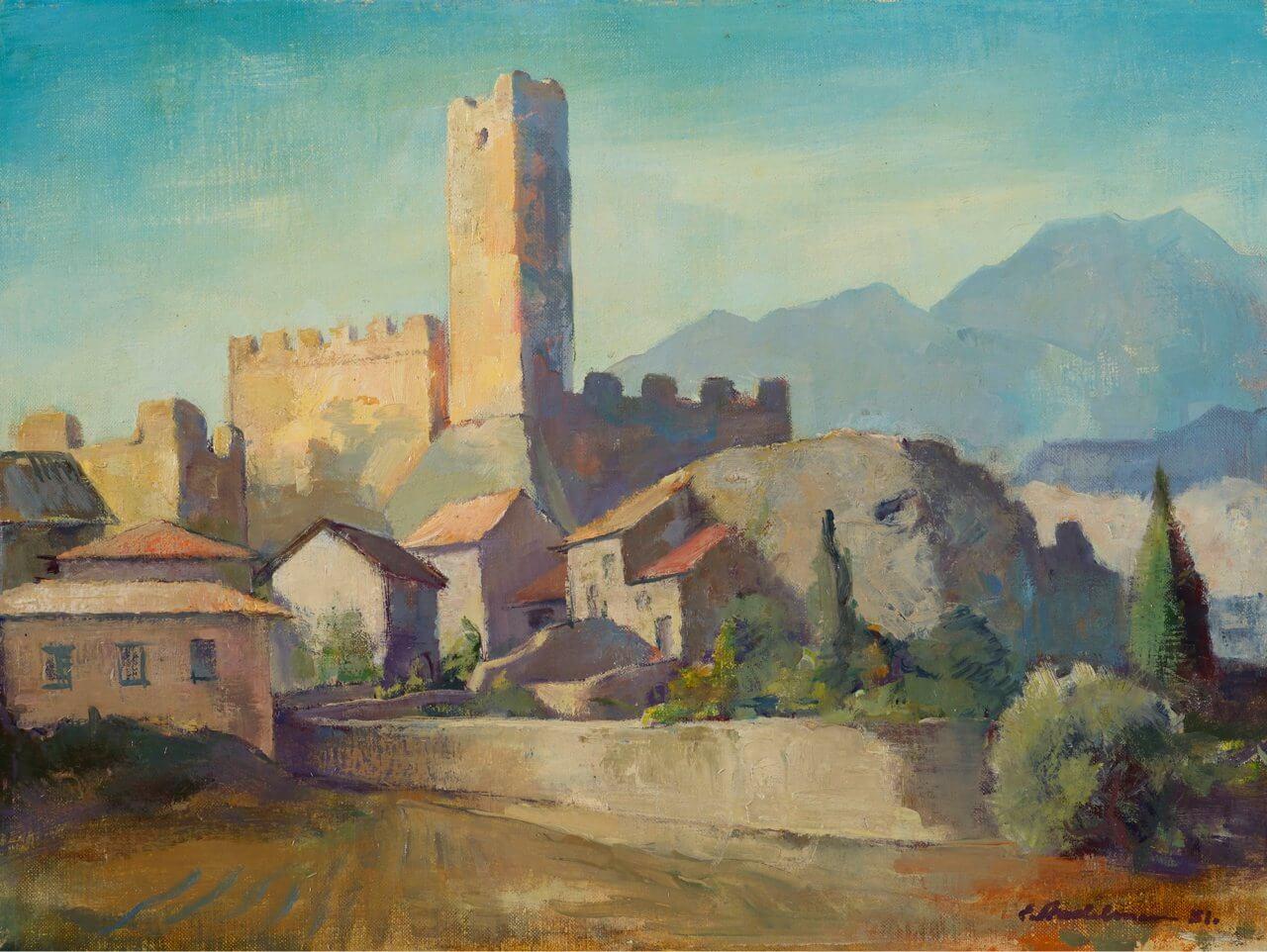 Castello di Malcesine, 1948, Stadema Stiftung
