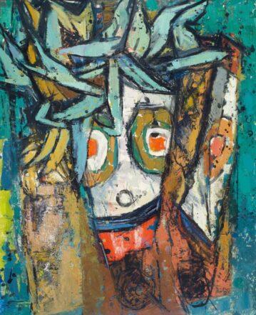 Maske, o.A., Stadema Stiftung