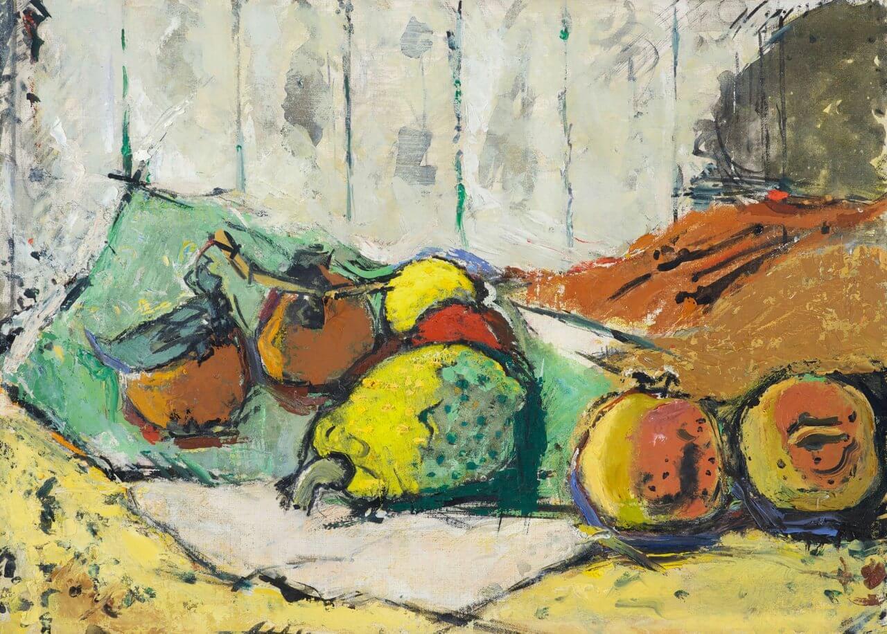 Stillleben mit exotischen Früchten, o.A., Stadema Stiftung